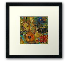 Country Songs Playing in the Background Framed Print
