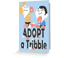 tribble adoption Greeting Card