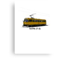 Tatra T-3 Soviet Streetcar Canvas Print