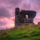 Castle Dargan county Sligo ROI by Jon Lees