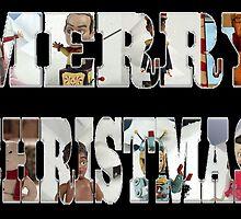 Community Clay Christmas Card by joshgranovsky