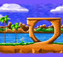 Green Hill Zone by WheelOfFortune