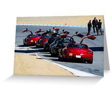 SLS AMG  Greeting Card
