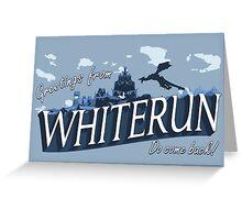 Greetings from Whiterun Greeting Card