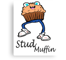 Stud Muffin Canvas Print