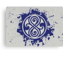 Doctor Who Seal of Rassilon Canvas Print