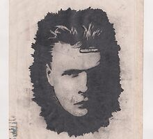 Larry Mullen, Jr. (1989, 25 Years of Damage) by Keith Miller