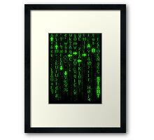 Konami Matrix Framed Print