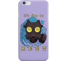 It's fine to rest. iPhone Case/Skin