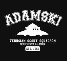 Adamski UFO Flying Saucer Squadron by NateRossArt