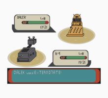 Doctor who pokemon battle by atumatik