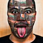 The Mask Mosaic by GolemAura