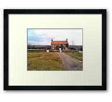 Little Lonely House Framed Print