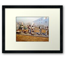 Slave For Life Framed Print