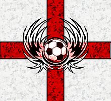 England - United Kingdom - Britain Football Pride 2 by iArt Designs