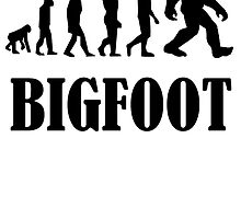 Bigfoot Evolution by kwg2200