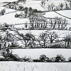 Snowy Sarum by Charlotte Rose