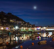 East Looe quay early morning by stevieuk