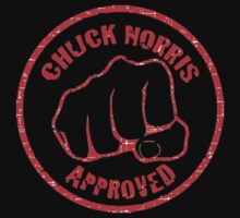 Chuck Norris approved! by Robspk