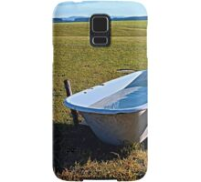 Outdoor pool | conceptual photography Samsung Galaxy Case/Skin