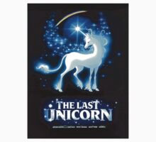 'The Last Unicorn' Vintage Movie  Poster Art from Rankin & Bass by TrueLoveTees