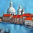 Canal Grande Venice by Robert Holewinski