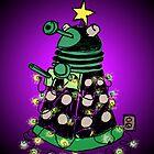 Christmas Dalek by plasticflame