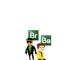 Breaking Bad Pixel Art iPhone case by PaulWrightyThen