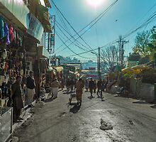 Streets of Murree by Zohaib Ali