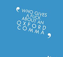 Vampire Weekend- Oxford Comma Poster by allfandomart