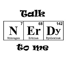 Talk Nerdy to Me by The-Nerd-Verse
