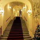 Prague Theater at Christmas time by bubblehex08