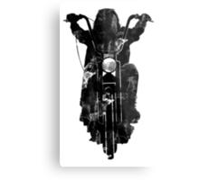 Chopper Motorcycle T Shirt  Metal Print