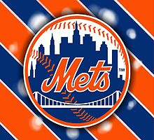 New York Mets Phone Case by AndrewTheGOAT