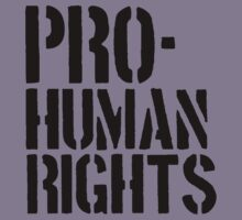 Pro-Human Rights by alyssa11