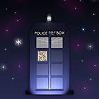 TARDIS by Bekah