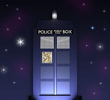 TARDIS by Bekah