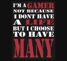 I'm a gamer shirt by fracheezy