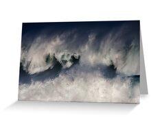 Monster Waves At Waimea Bay .2 Greeting Card