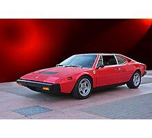 1975 Ferrari Dino 308GT4 IV Photographic Print