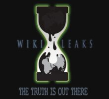 WikiLeaks - The Truth is out There by B-Shirts