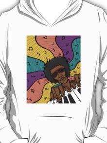Piano Man Making Music T-Shirt