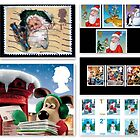 UK Christmas Stamp Collection by ©The Creative  Minds