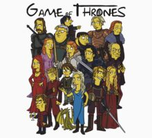 Game of thrones simpsonized 1 by KZADesign