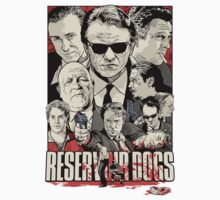 Reservoir dogs drawing by KZADesign