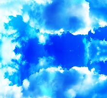 Bright Cloud Pattern by 319media