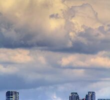 Bellevue Cumulus by Sue Morgan