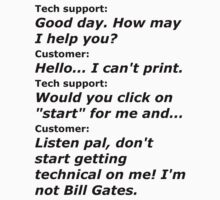 Computer Tech Support 1 by GoneIn10Seconds