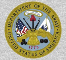 Seal of the US Army by cadellin