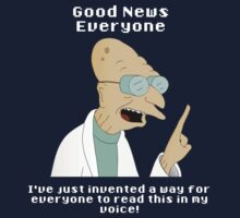 Futurama - Professor Farnsworth and His Good News by bicwang